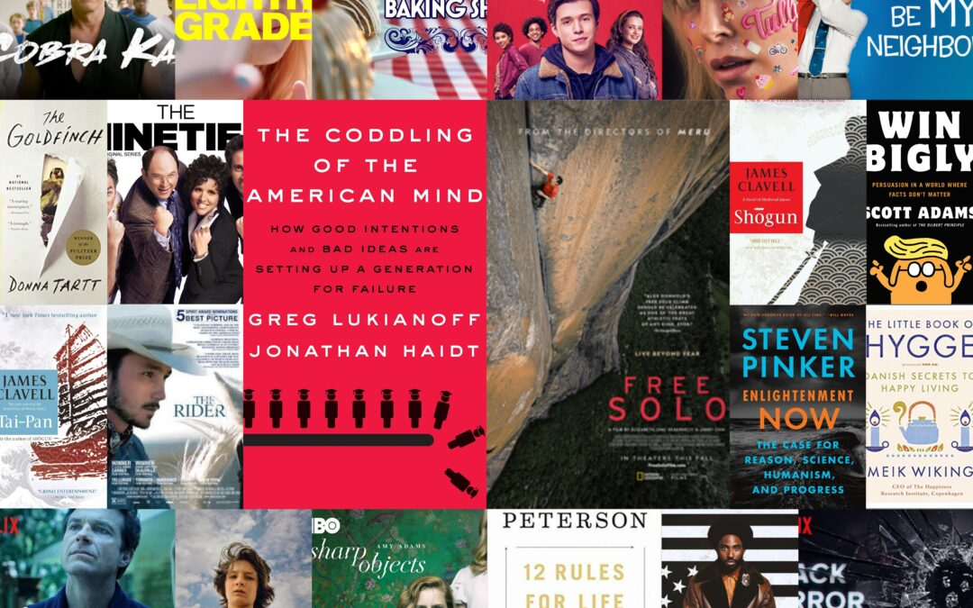 Best of 2018 Books, Movies, TV, and Podcasts